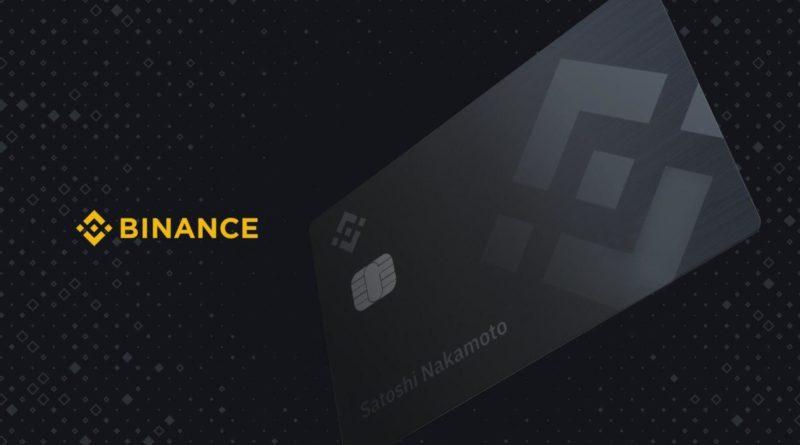 Binance kártya
