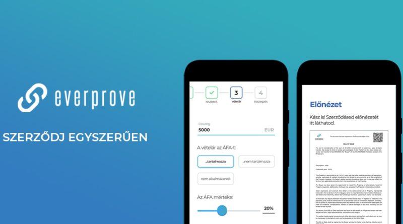 """""""Minden Szerződésed Fontos"""" – bemutatkozik a blokklánc technológián alapuló magyar startup, az Everprove"""