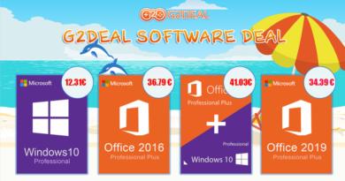 Legjobb ajánlat: Szerezze be a Windows 10 Pro-t 5331 forintért a G2deal-tól!