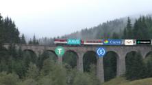 Defi Garamfő viadukt vonat stabilcoin