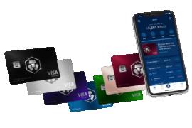 Crypto.com kriptovaluta kereskedési platform, amihez VISA kártya is jár