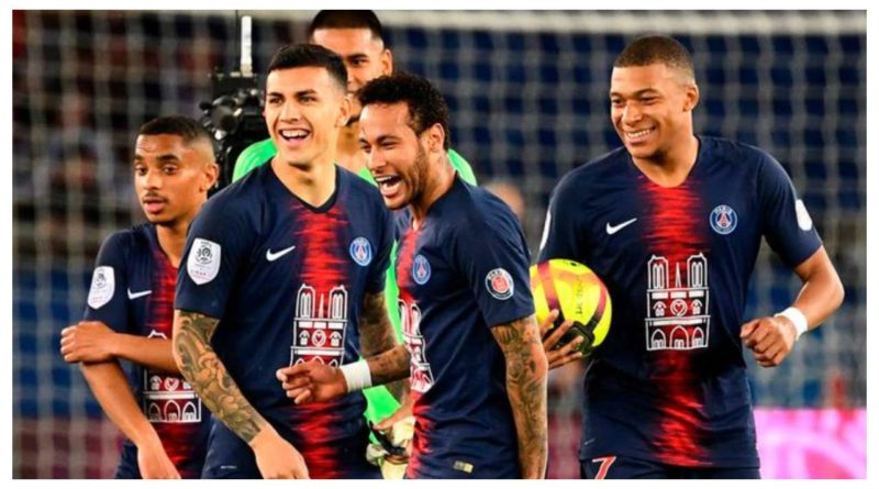 Paris Saint Germain kártya