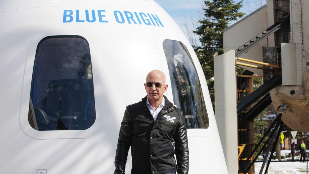 Jeff Bezos és a sikló