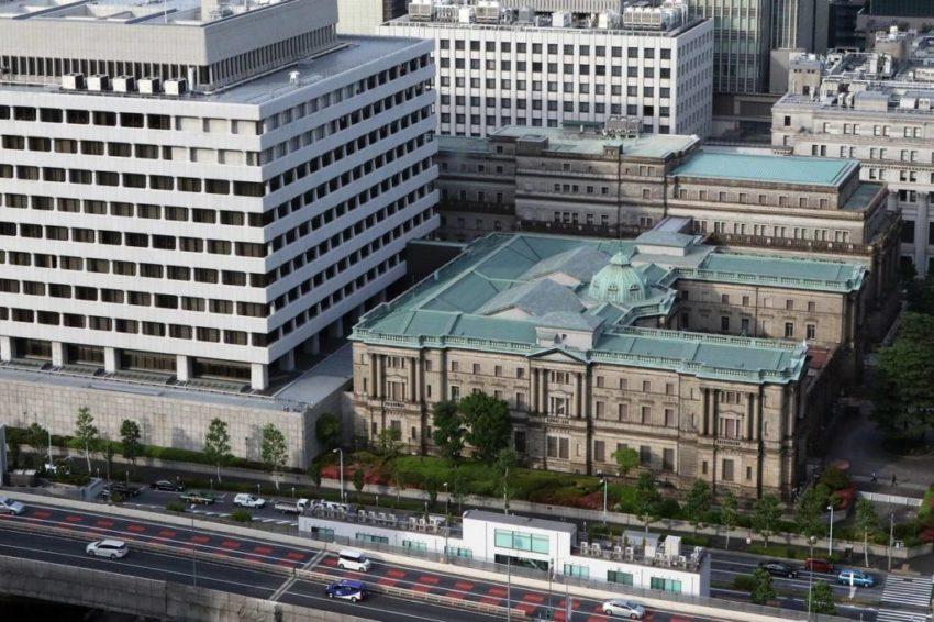 A bank épülete felülnézetből
