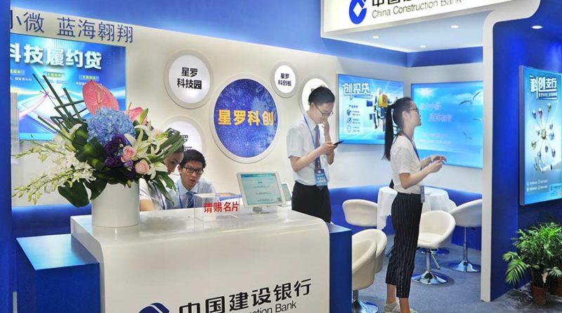 kínai bank blokklánc értékpapír