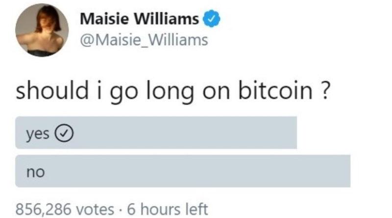 A Trónok harca sztárja a bitcoinról kérdezett Twitteren, Elon Musk azt hitte, a Vajákban játszik