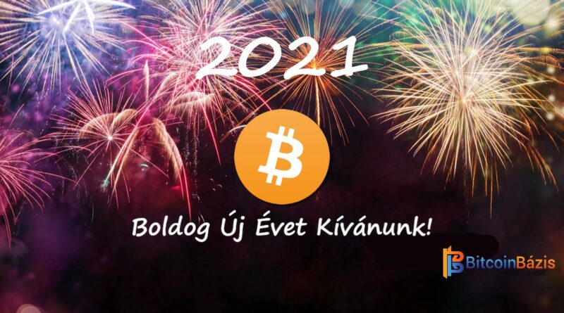 Boldog Új Évet Kíván a BitcoinBázis Csapata