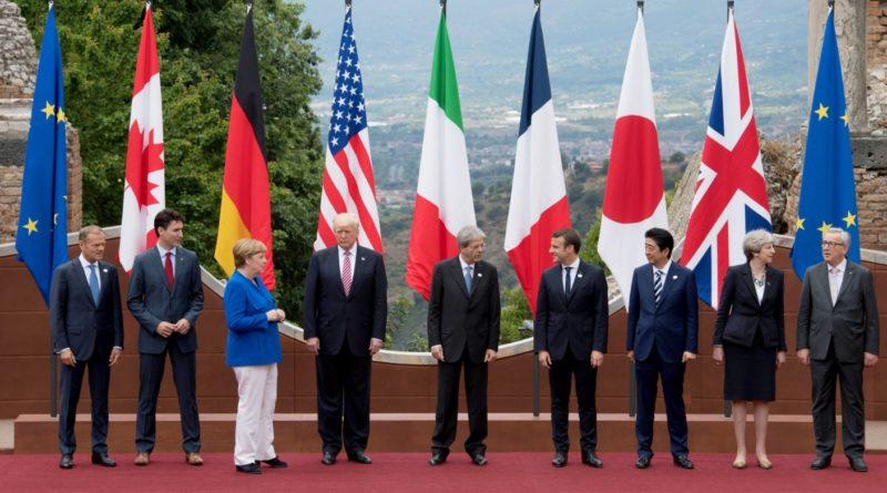 G7-országok vezetői