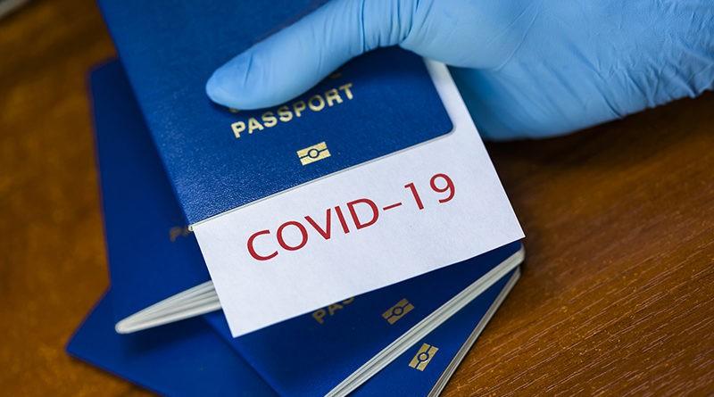 COVID útlevél