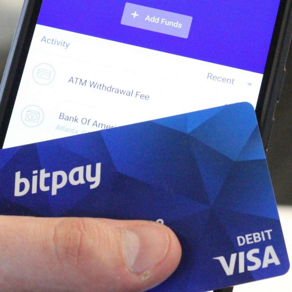 BitPay kártya