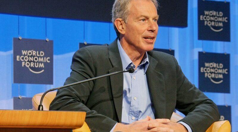 oltási útlevél Tony Blair