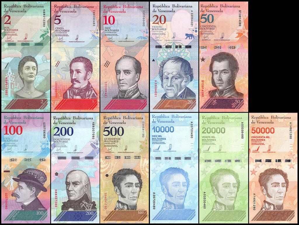 Venezuelai bankjegyek