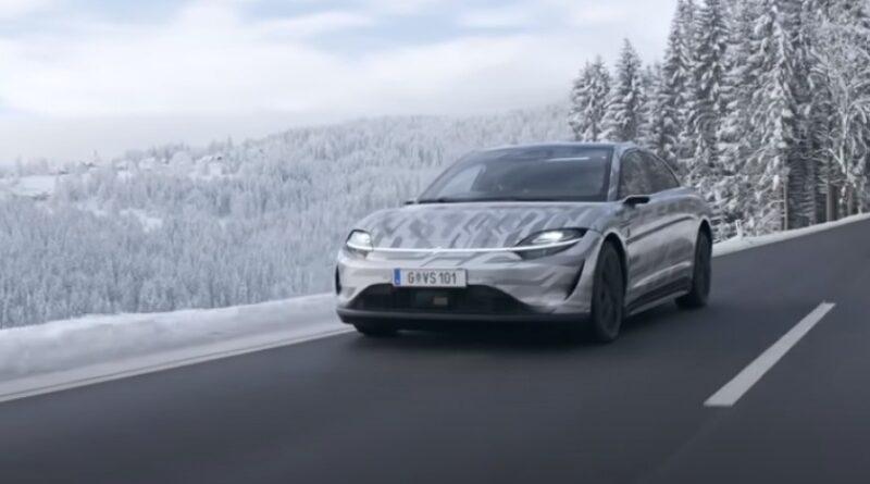 A Sony elektromos autója már az osztrák utakon tesztel, a szoftver egy részét a magyar AImotive gyártja