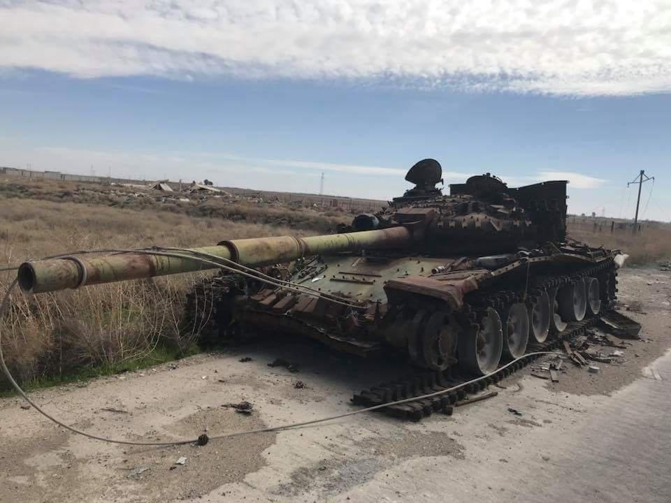 tank török Szíria