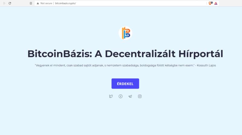 decentralizált honlapok BitcoinBázis