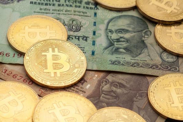 India kriptovaluta tiltás