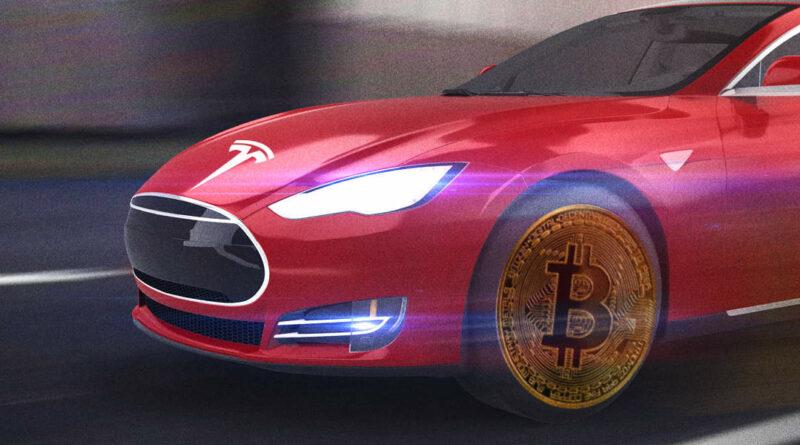 mostantól bitcoinért is lehet Teslát venni