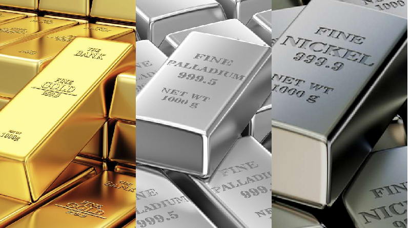 Befektetési brainstorming: arany vs. palládium vs. nikkel