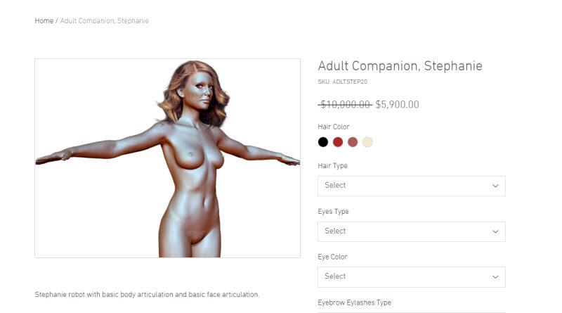 szexrobot - Napi bizarr Elhunyt élettársak szexrobotjait árulja egy technológia startup