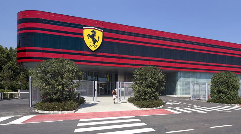 elektromos Ferrari