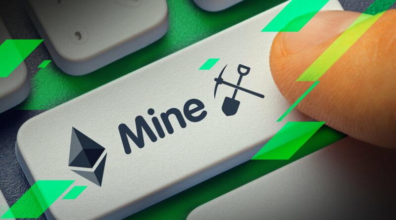 ethereum bányászat