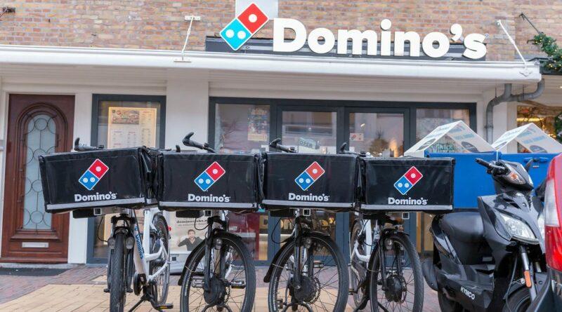 Domino's Pizza bitcoin fizetés