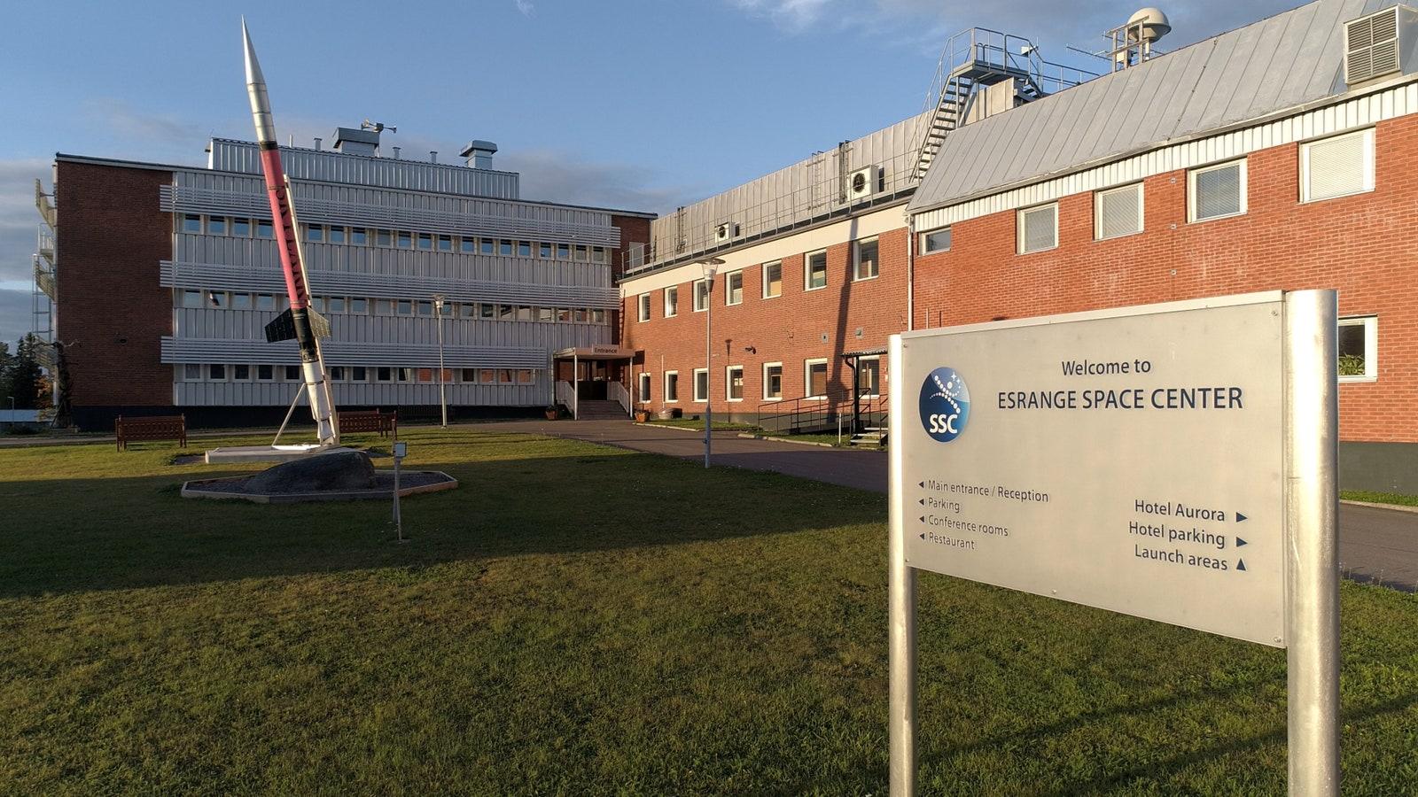 Esrange Űrközpont, Svédország