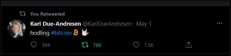 Forrás: Twitter | Handelsbanken Kari Due-Andresen