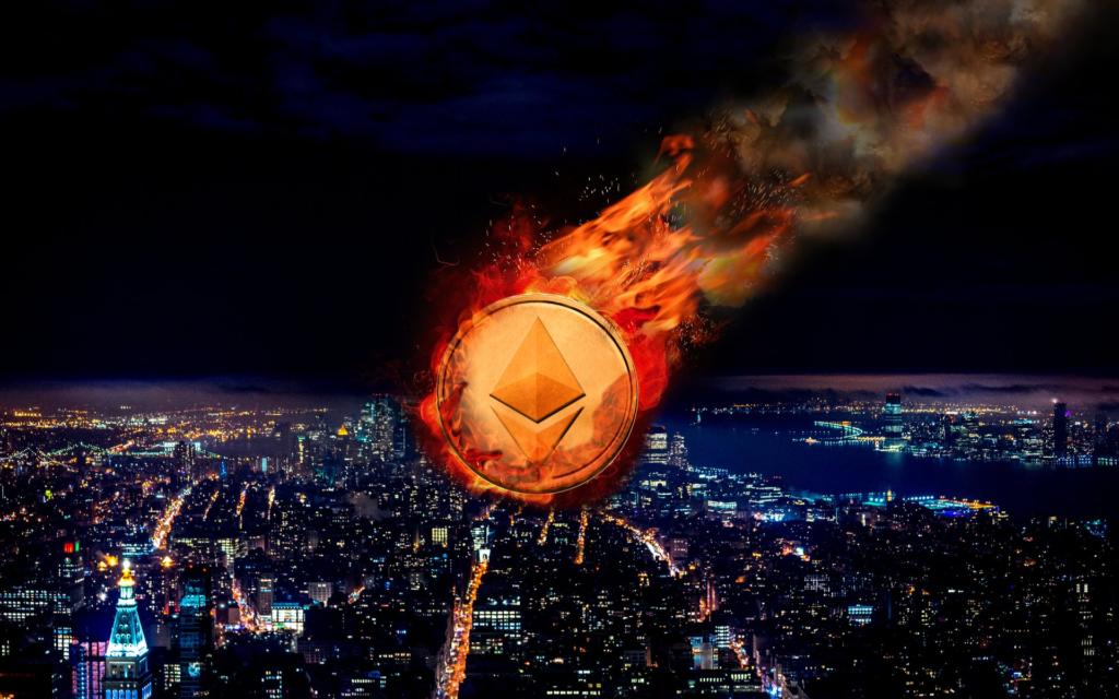 Az Ethereum a május 10-ei történelmi 4350 dolláros csúcsról mindössze néhány nap alatt 2000 dollár alá esett