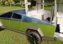 Tesla Cybertruck lakókocsi