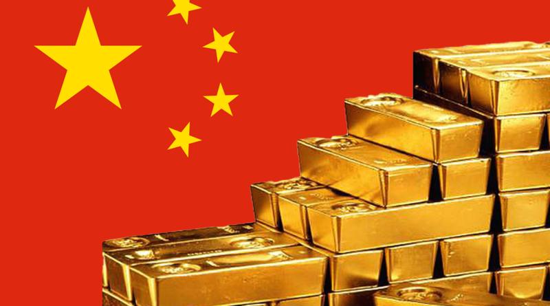 Kína, arany