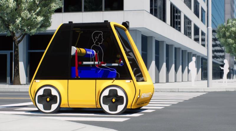 összerakható elektromos autó