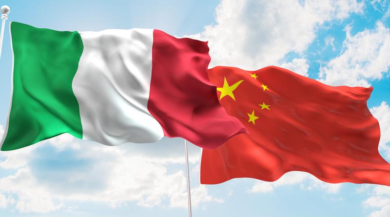 Olaszország Kína partnersége