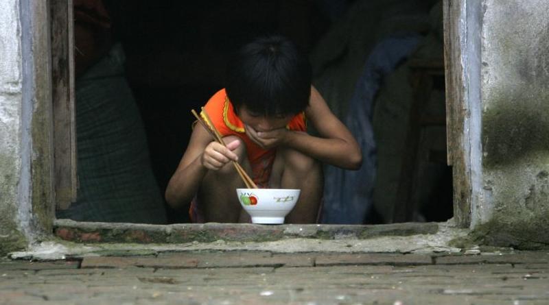 kínai gyerekek