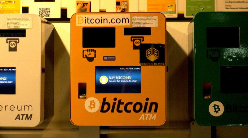 Idén eddig 10,000 új kriptovaluta ATM került kihelyezésre