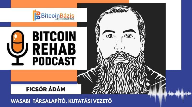 bitcoin rehab podcast Ficsór Ádám