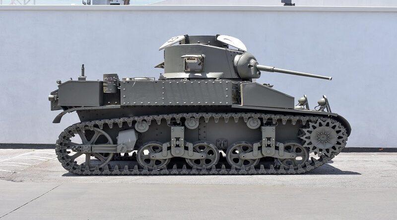 Második világháborús tankot bocsájtottak árverésre az interneten