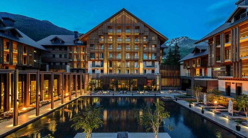 svájci luxushotel