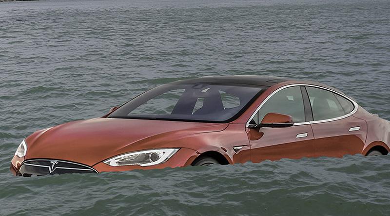 Tesla mély víz
