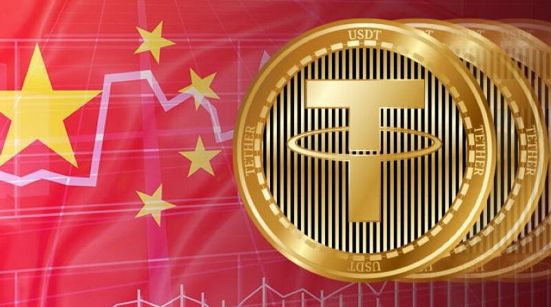 CNY USDT eladás Kínában