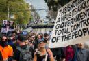 Ausztráliában tüntetők