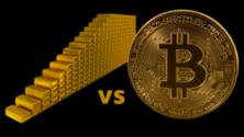 Egy év alatt a bitcoinnal sokkal többet lehetett keresni, mint arannyal