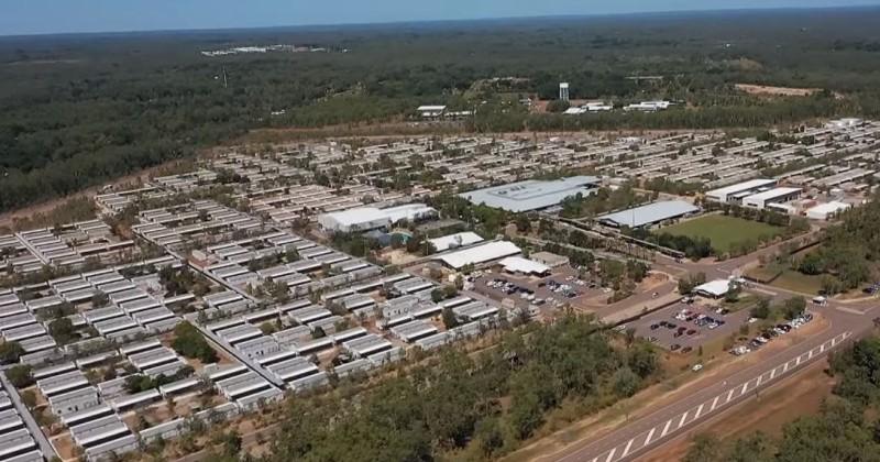 Ausztrália karanténtábor