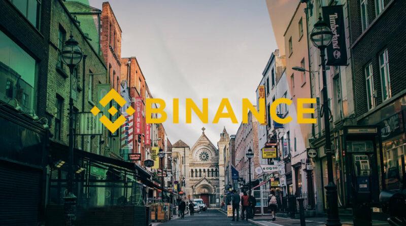 Binance Írországban