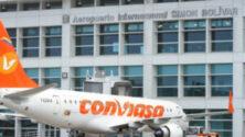 Venezuela repülőterén kriptovalutával
